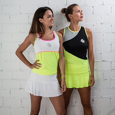 Ropa BB de tenis y padel para mujer